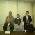 セネガルからの訪問(12月18日)
